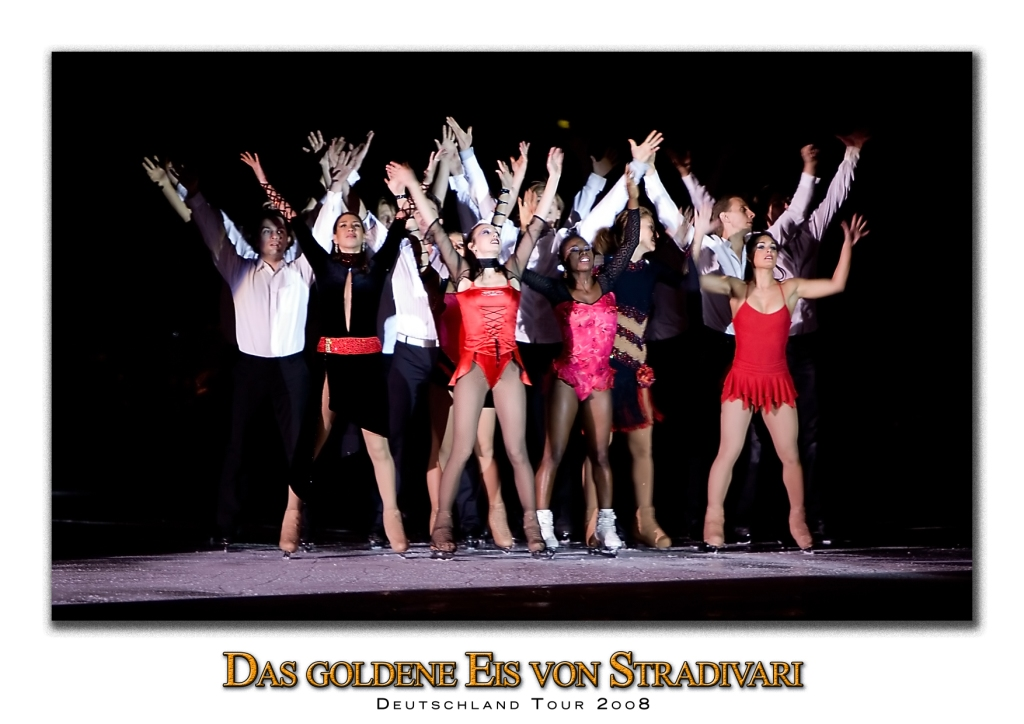 Das goldene Eis von Stradivari - Deutschlandtour 2oo8