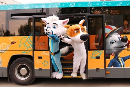 Фото_акция 15 мая_брендированный автобус